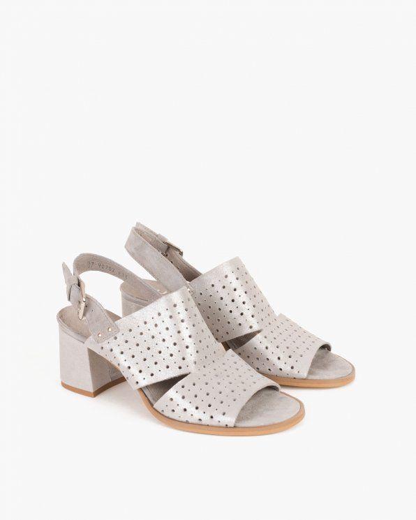 Sandal Azur 005 65381 Szary Sandals Shoes Fashion