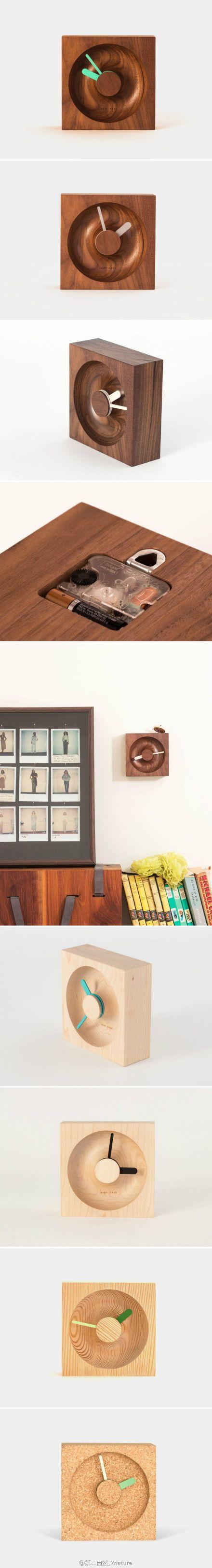 O时钟是位于洛杉矶的OKUM MADE 设计品牌设计。这一系列体现了木材自然美感,以及木材岁月时间的特质,刚好与时钟不谋而合。还有100%的回收软木款。每一件产品都是手工精心制作,OKUM MADE 品牌旨在努力创造有意义的对象,体现现代工艺和纯度。