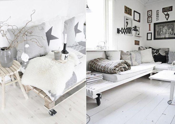Мебель из поддонов и паллет #мебель #паллеты #поддоны