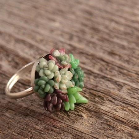 succulent garden ring