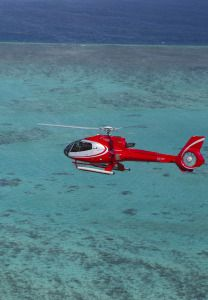 Experience the sheer size and beauty of the Great Barrier Reef with Nautilus Aviation scenic flights.