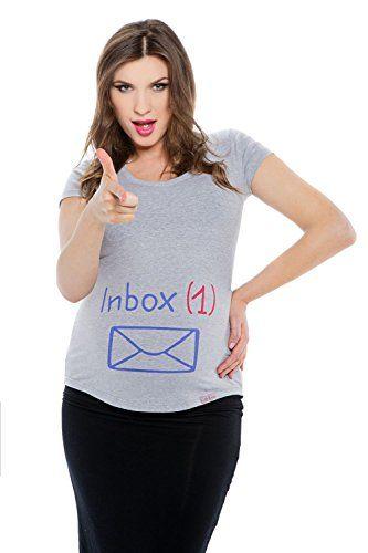 My Tummy T shirt premaman Inbox grigio M (medium) My Tummy http://www.amazon.it/dp/B011OC0POS/ref=cm_sw_r_pi_dp_x7NOwb1F1B3C1