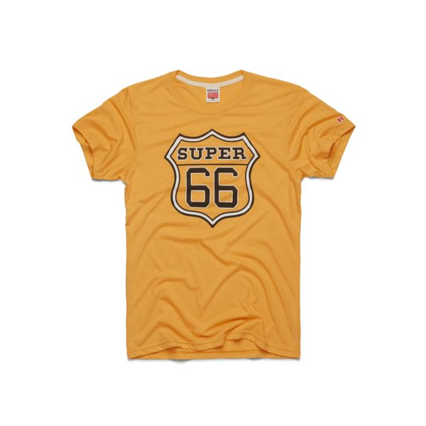 "Pay homage to one of the greatest to ever play, ""Super"" Mario Lemieux (#66) in this ultra comfy, retro tee."