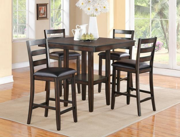 The Tahoe Counter Height Dining Set Adds A Little Sophistication To Any Home