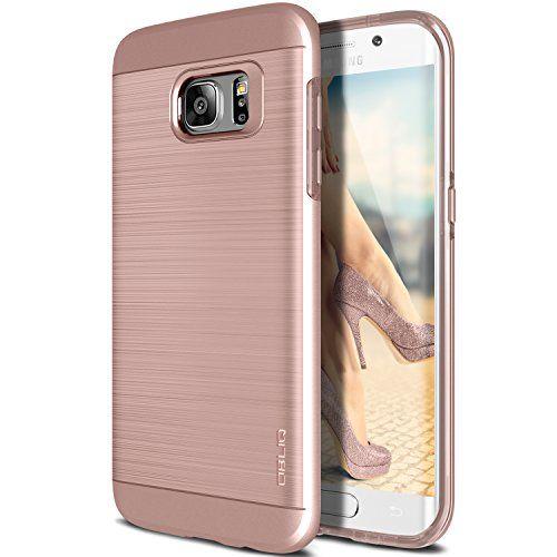 Galaxy S7 Edge Case, OBLIQ [Slim Meta][Rose Gold] Slim Fit Premium Dual Layer Protection Case with Metallic Brush Finish Back with Shock Absorbing TPU Inner Layer for Samsung Galaxy S7 Edge Obliq http://www.amazon.com/dp/B01BD02QD4/ref=cm_sw_r_pi_dp_eJjZwb1F2C2B3