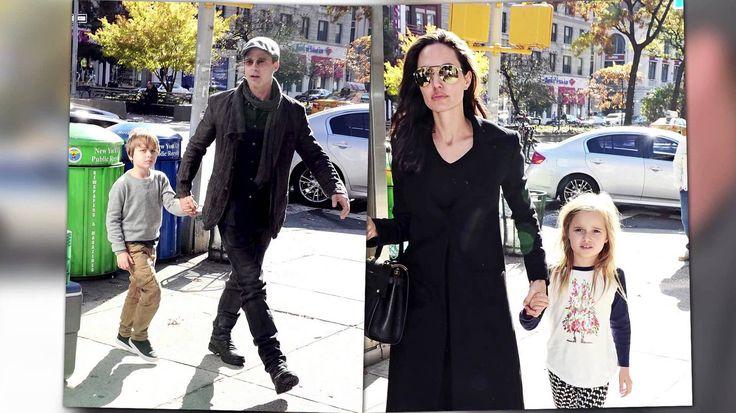 Angelina Jolie And Brad Pitt Cannot Agree On Living Arrangements For Their Children - She Is Sad To Share Them #AngelinaJolie, #BradPitt celebrityinsider.org #Entertainment #celebrityinsider #celebrities #celebrity #celebritynews