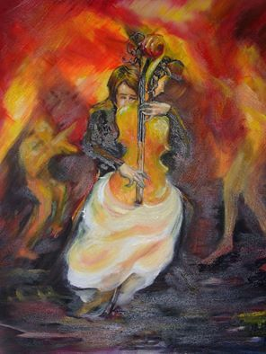 Music of My Soul - oil on canvas