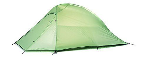 Green New Fashion 2 Person Tent Lightweight Double Tents Outdoor Mountaineering Camping Tents Doublelayer Camping Tent >>> Click on the image for additional details.