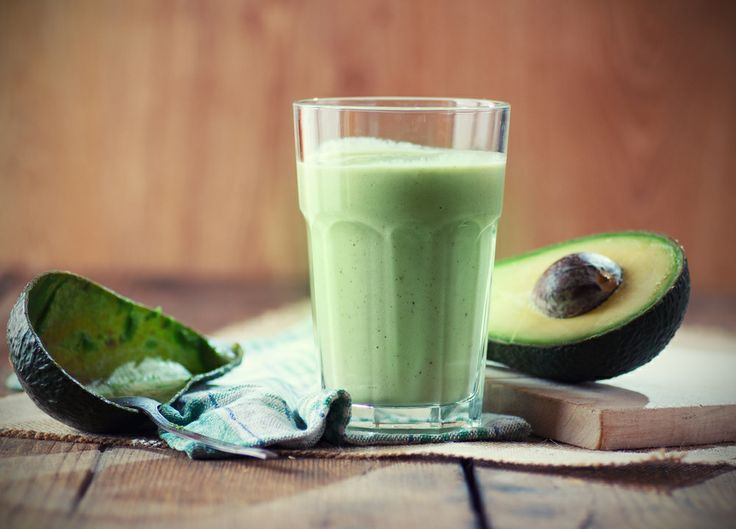 Appel avocado smoothie
