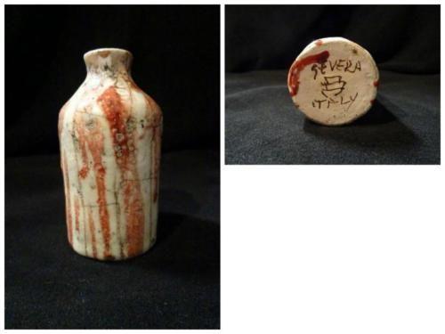 Vasetto in ceramica decorato – Carlo Alberto Severa