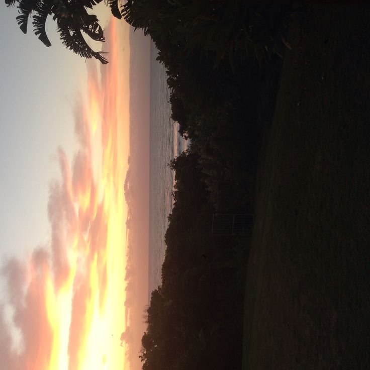 Sunset at Umzumbe Beach House