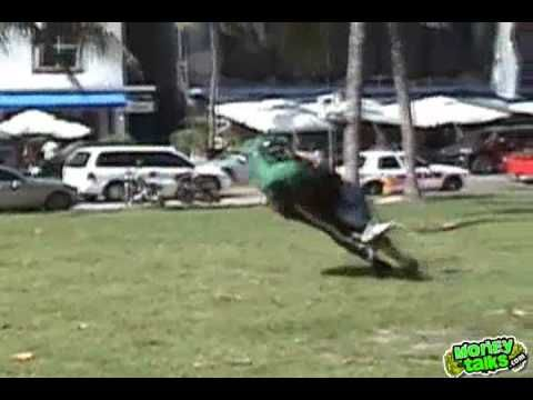 Kimbo Slice Goes Full-Blast In Football Tackle, Player Doesn't Get Back Up