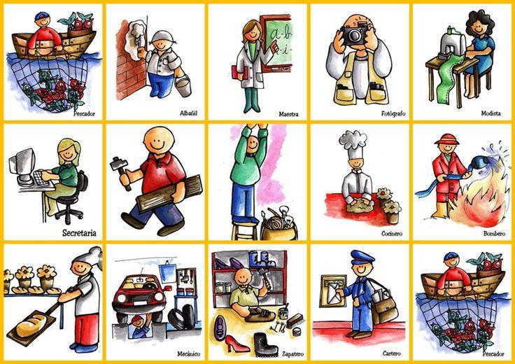 Oficios y profesiones en inglés y español con imágenes - Imagui
