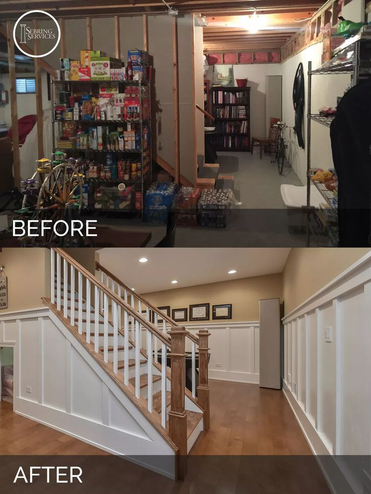 a naperville basement before after pictures - Basement Design Services