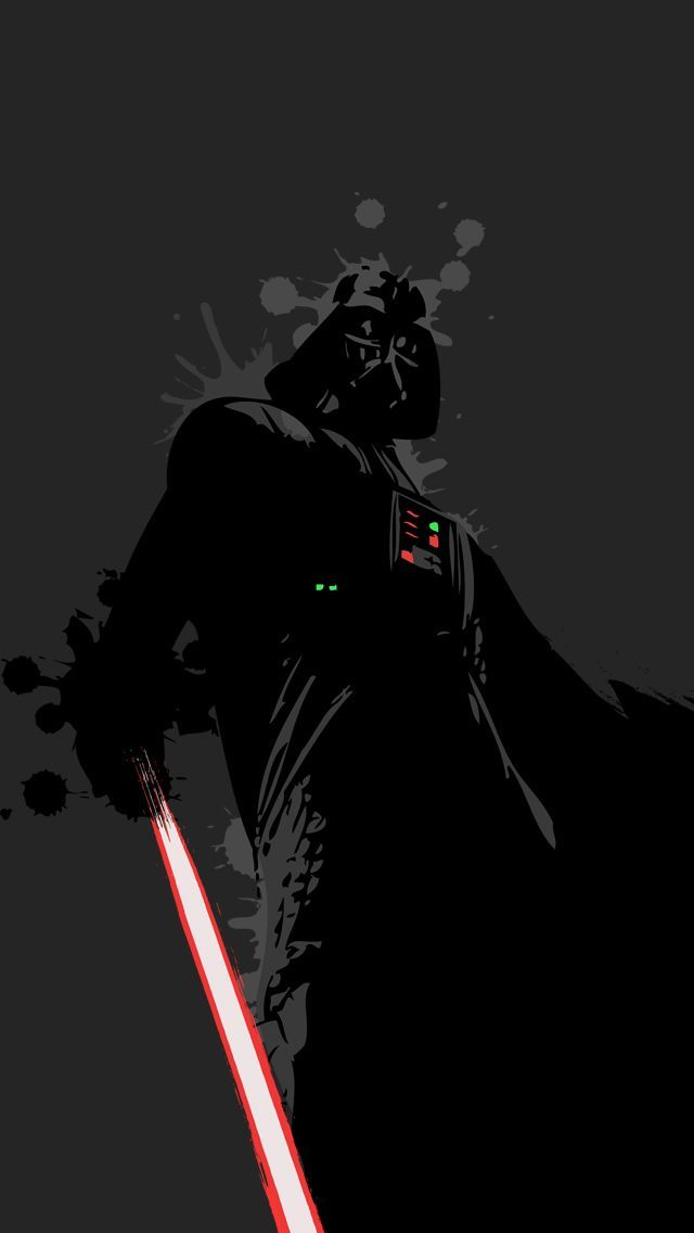 ↑↑TAP AND GET THE FREE APP! Art Creative Darth Vader Star Wars Abstract Lightsaber HD iPhone Wallpaper