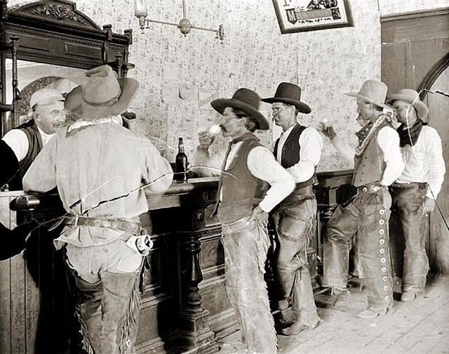 Old West Saloons: Where Real Cowboys Often Gathered in the 19th and Early 20th Centuries