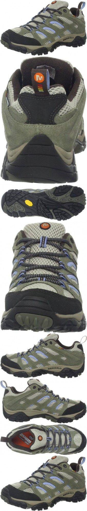 Merrell Women's Moab Waterproof Hiking Shoe,Dusty Olive,9 M US