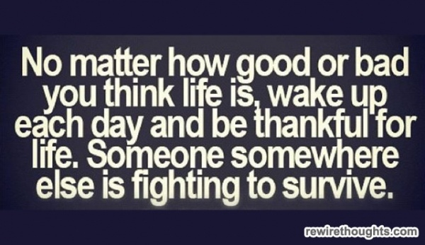 Be Thankful For LifeDaily Reminder, Remember This, Life, Inspiration, Quotes, Truths, True, Reality Check, Living