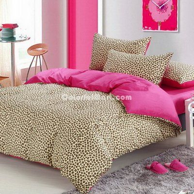 Style Cheetah Print Bedding Sets [101201000011] - $109.99 : Colorful Mart, All for Enjoyment