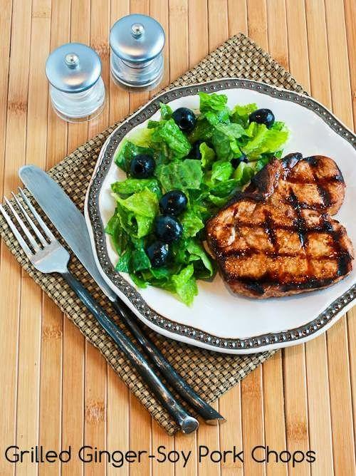 ... best pork chops pork ginger soy pork grilled ginger ginger soy grilled