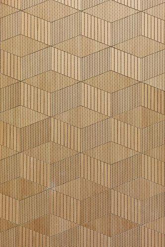Walls Restaurant Commercial Wooden Wallcovering