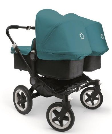 Coming soon: the Bugaboo Donkey in petrol blue.
