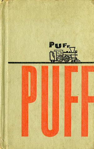 puff puff book cover design