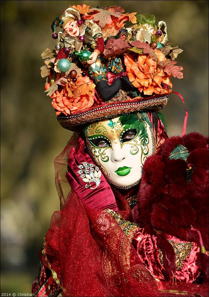 Florine - Carnaval Vénitien Annecy 2014
