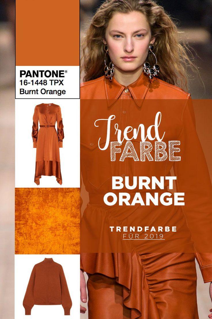 Trendfarbe 2019: Das warme und kraftvolle Burnt Orange