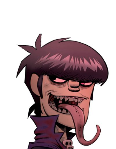 Murdoc (Gorillaz). Ok he's so gross why do I even??