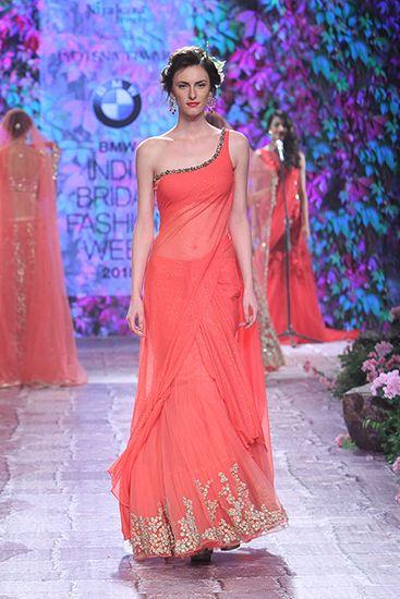 Jyotsna Tiwari. BMW IBFW 15'. Indian Couture. @paanand