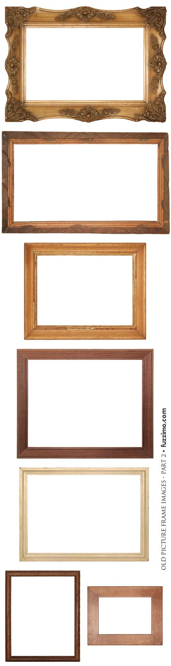 free hi-res old picture frame images