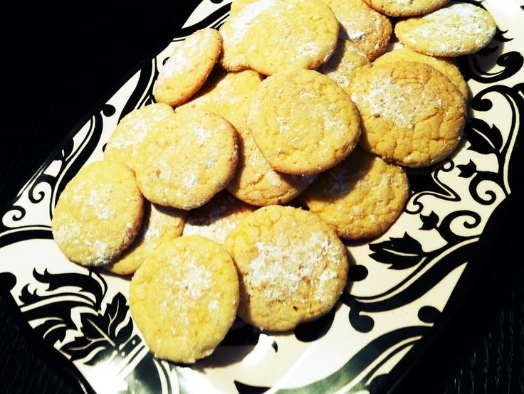 Lemon Drop Cookies | Adventures in the Big Peach