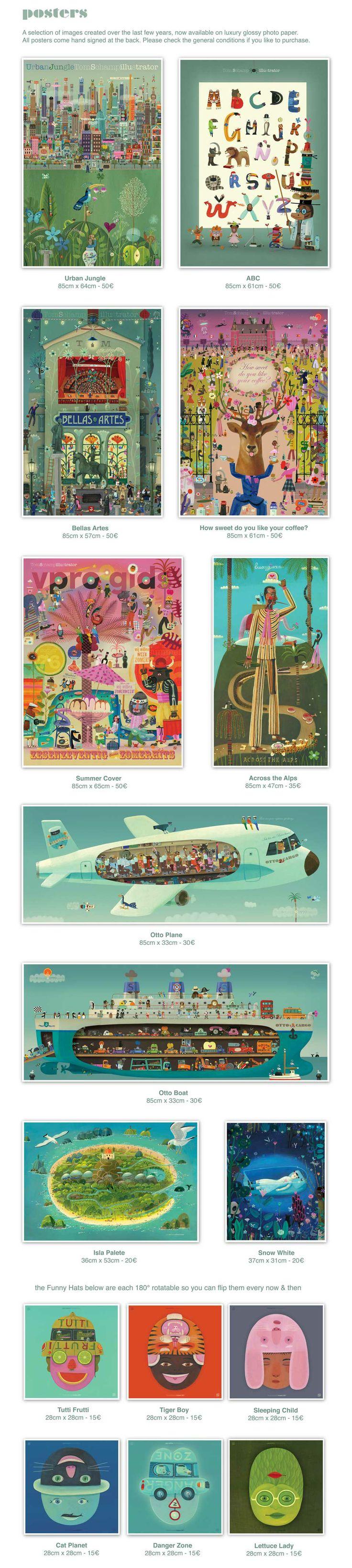 Tom Schamp | Posters