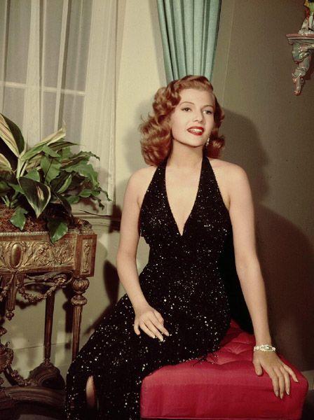 Rita Hayworth    via: Classic Hollywood