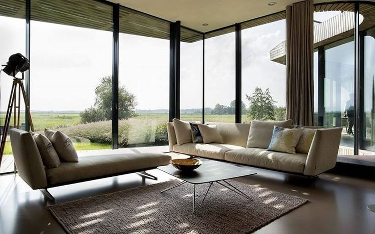 """W.I.N.D. House by UNstudio #homeadore #livingroom #interior #interiors #interiordesign #interiordesigns #residence #home #casa #property #villa #maison…"""