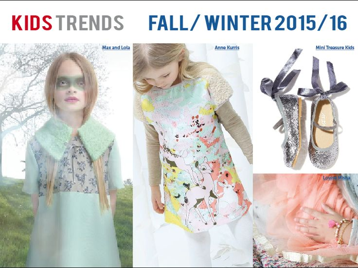 ENCHANTED   Kids Key Trend Story for Fall/Winter 2015/16
