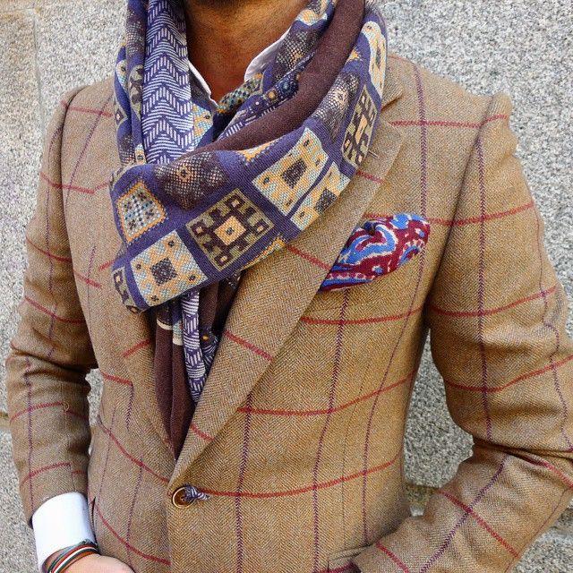 Nice scarf #fashion&#style
