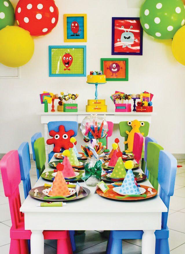 Little Monster Party Ideas