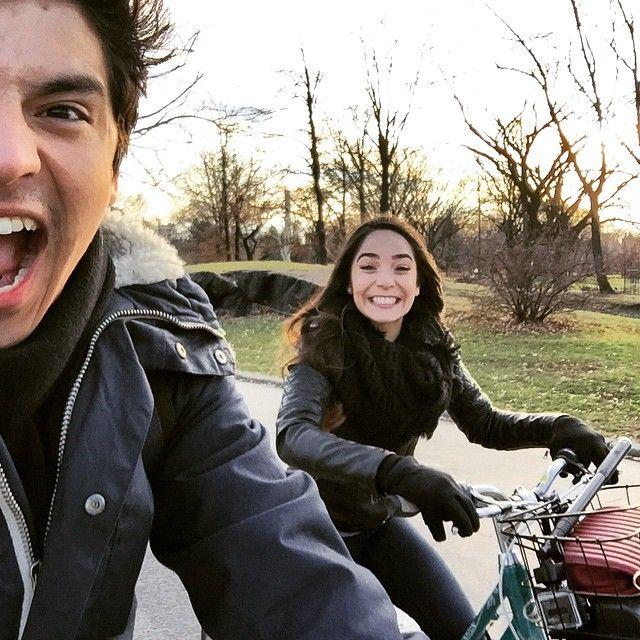 """@heyitspriguel's photo: """"En bici por Central Park con mi baby ❤️"""" #heyitspriguel"""