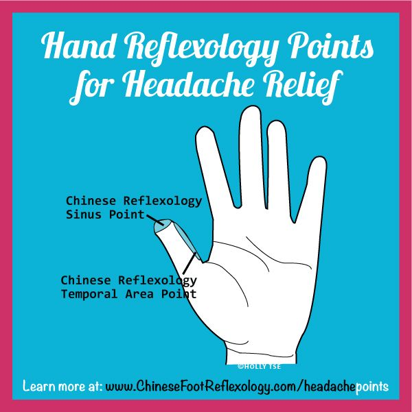 Got A Headache Here Are 6 Hand Reflexology Points That You Can Massage For Fast Relief From Headache Hand Reflexology Reflexology Points Massage For Headache