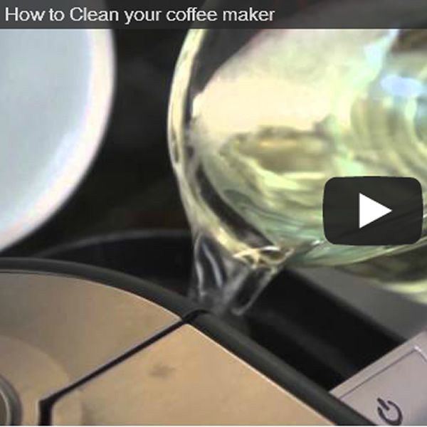How To Clean Your Coffee Maker...