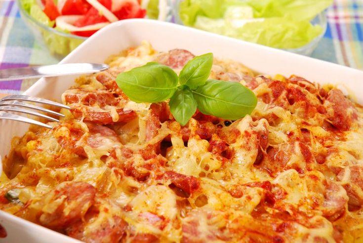 Sufleu rumen cu cartofi si carnati - www.Foodstory.ro