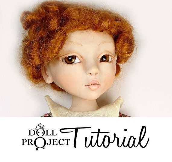 Learn how to make OOAK dolls! How to Sculpt a Ball Jointed Doll BJD Art Doll PDF Tutorial by Doll Project