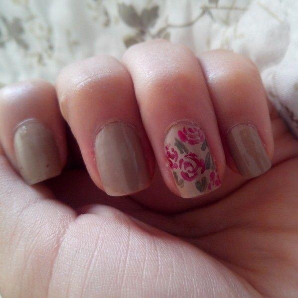 Uñas con colores otoñales #nailart #nail