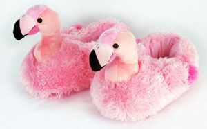 flamingo slippers        funny  but i want