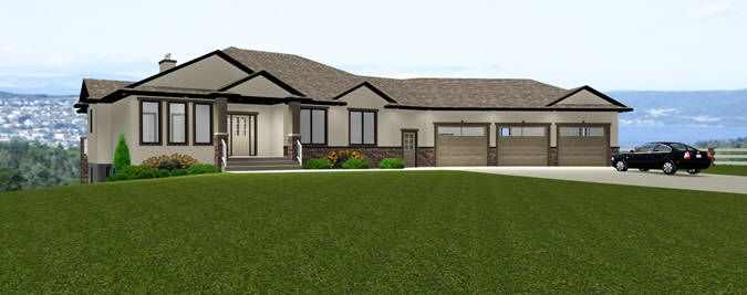 28 best images about western canadian home plans on for Bungalow house plans with basement and garage