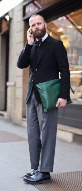 Angelo Flaccavento, Street Style in Paris, Men's Fall Winter Fashion.