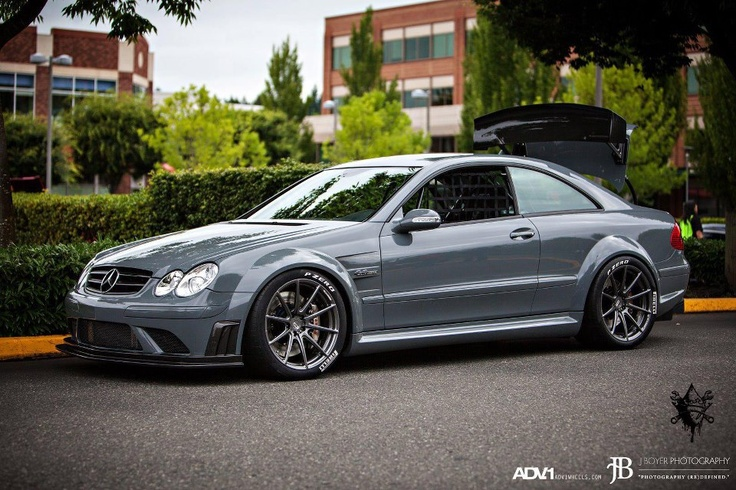 Great looking #Mercedes CLK