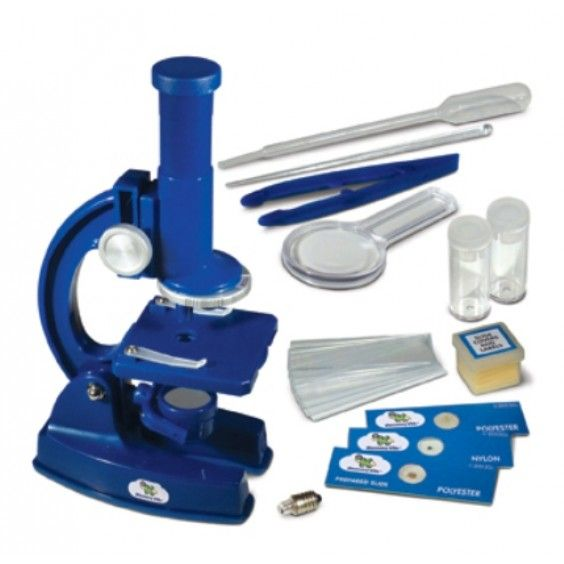 Discovery Kids - 100x Microscope #Entropywishlist #pintowin My little scientist is fascinated with the world around him. Would love to help him explore and discover the microscopic world with this kit
